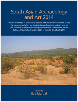 Front page of the proceedings of the EASAA 2014 conference held in Stockholm